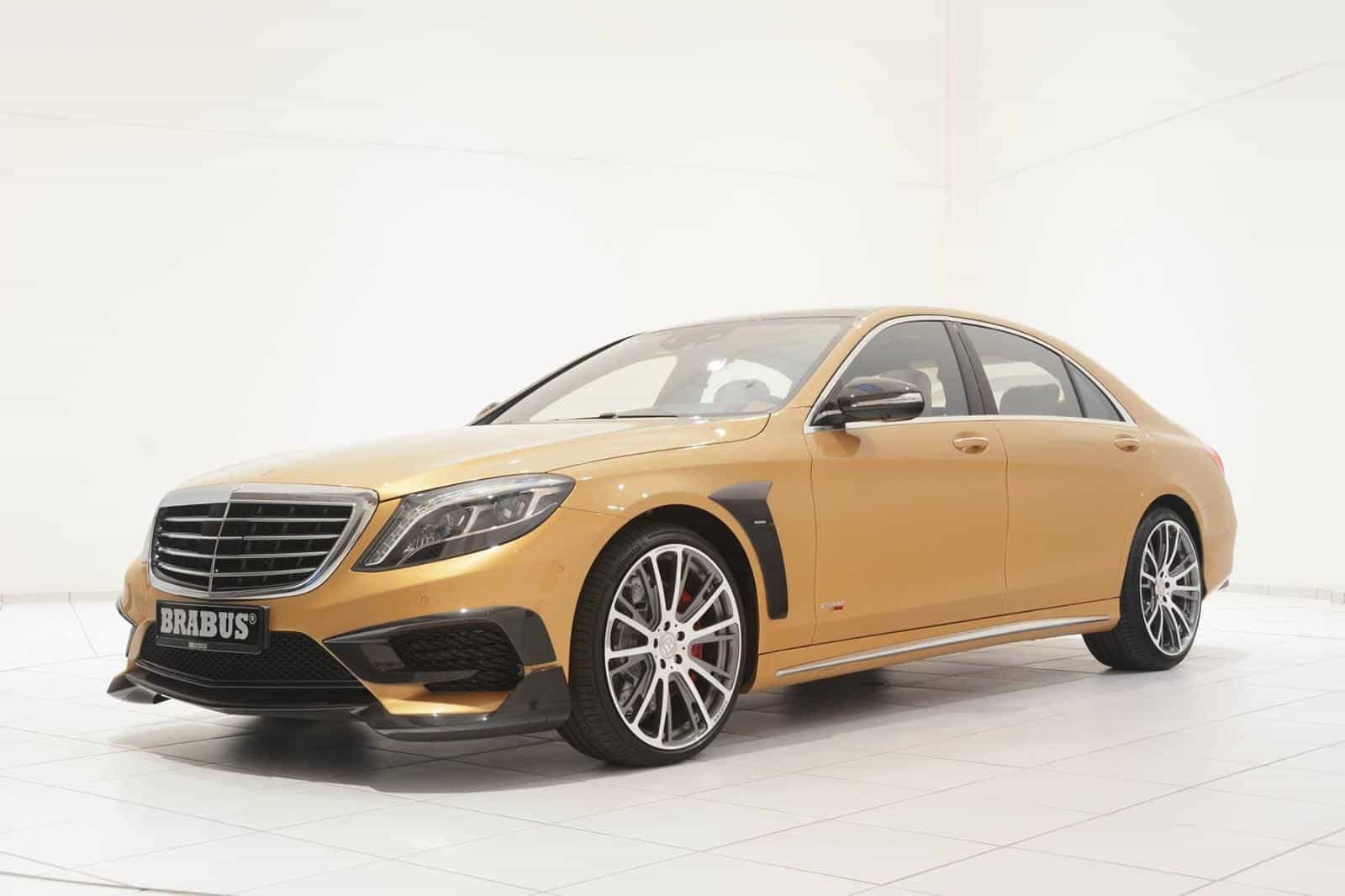Brabus unveils new mercedes benz s63 amg modification for Mercedes benz modification