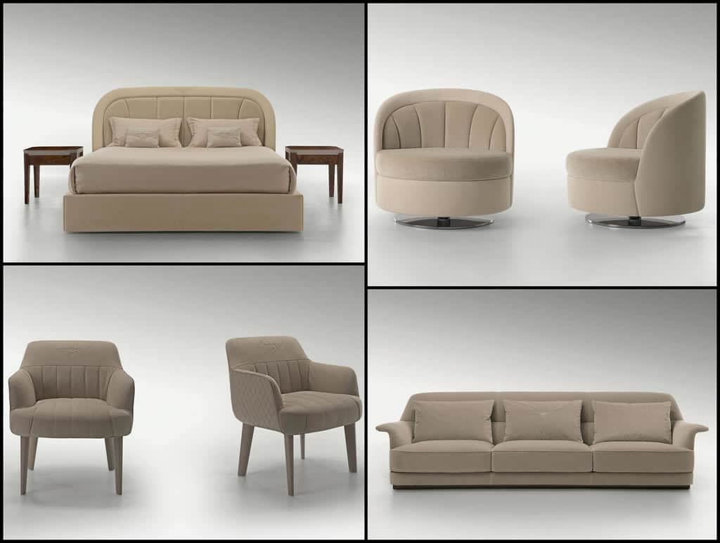 Luxurious new home furniture collection by bentley for At home furniture