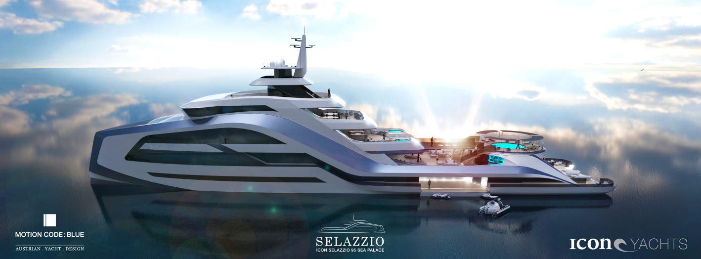The Icon Selazzio 95 Sea Palace is a Spectacular Floating Entertainment Venue