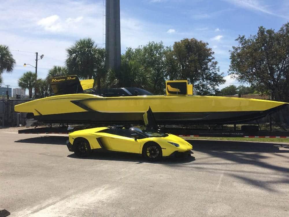 Awesome 1 3million Aventador Inspired Speedboat