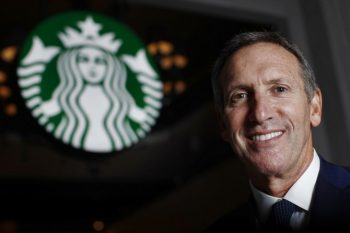 Image: Starbucks CEO Howard Schultz
