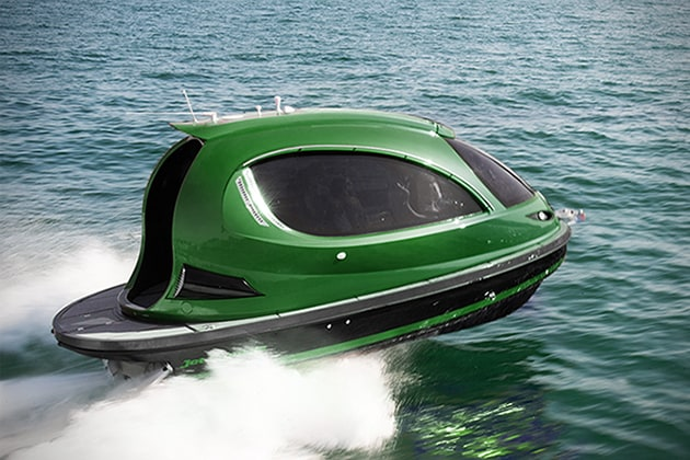 The Jet Capsule Reptile High Performance Luxury Mini Yacht