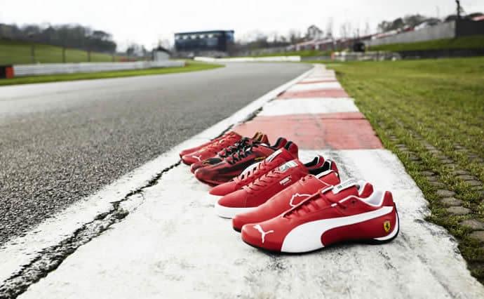 Ferrari-Inspired Footwear Collection