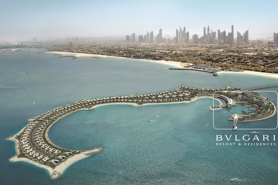The bulgari residences are the next big thing in dubai for Big hotel in dubai