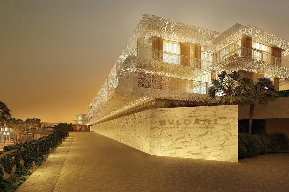 The bulgari residences are the next big thing in dubai for Bulgari hotel dubai