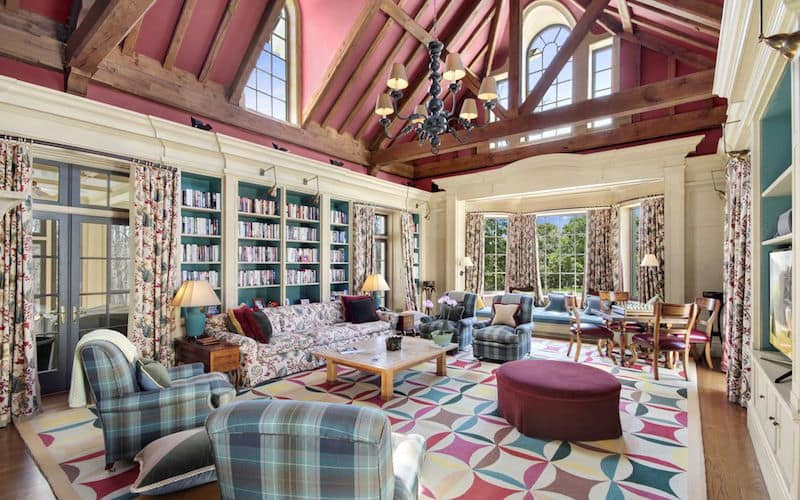 Amazing stone manor from chappaqua new york priced at 17 9m for Clinton house new york