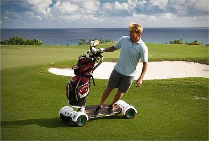 Have Fun On The Putting Green With The Golfboard