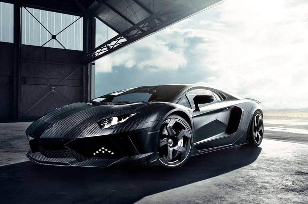 "MANSORY Carbonado ""Black Diamond"" Lamborghini Aventador"