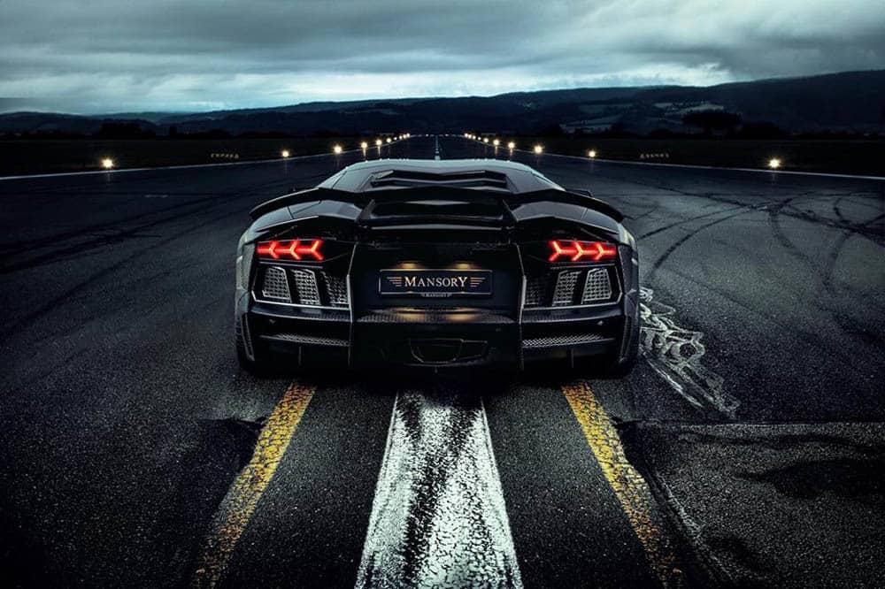 Mansory Carbonado Black Diamond Lamborghini Aventador