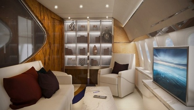Bespoke Boeing 787 Dreamliner refined by Greenpoint Technologies