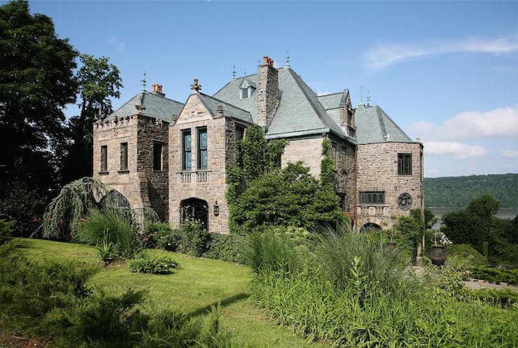 Lavish 1890s Stone Castle From Yonkers New York Up For