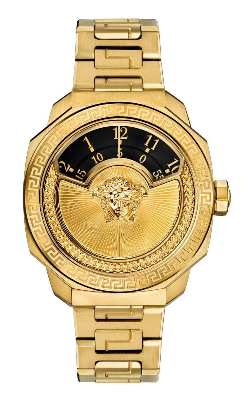 the eye catching versace dylos automatic watch. Black Bedroom Furniture Sets. Home Design Ideas