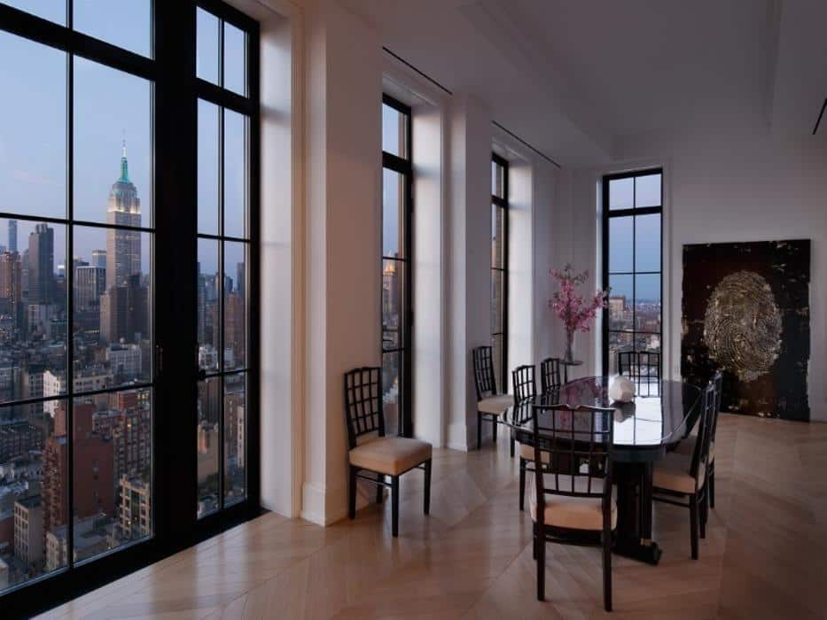New york 39 s amazing walker tower penthouse is up for sale for Penthouses for sale in nyc