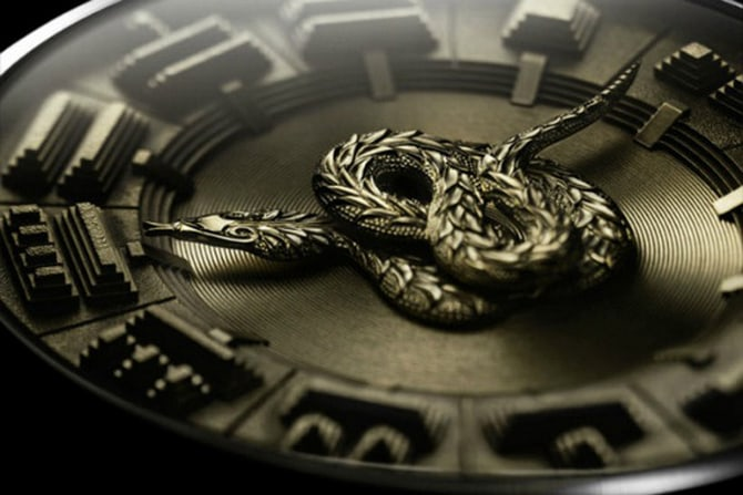 De Bethune DB24 Quetzalcoatl watch come in a limited edition of only 20 pieces, and its price is $120,000