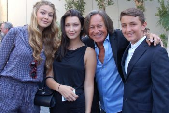 Mohamed Hadid and children