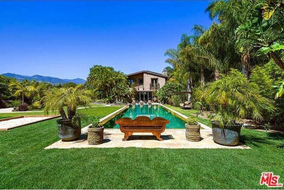 Pink and Carey Hart's Malibu Home