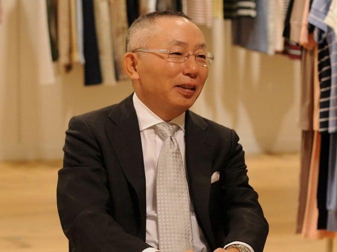 Tadashi Yanai the richest man in Japan 00001