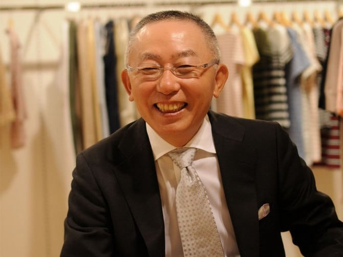 Tadashi Yanai the richest man in Japan 00003