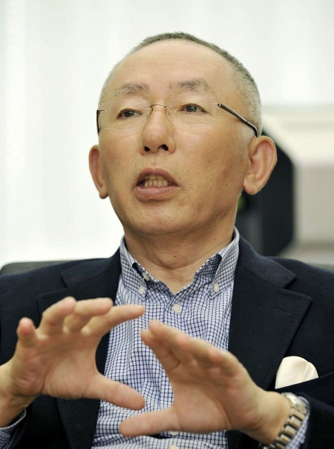 Tadashi Yanai the richest man in Japan 00006