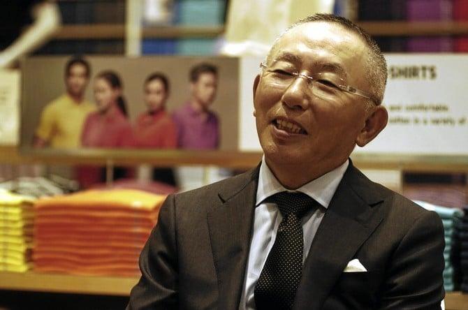 Tadashi Yanai the richest man in Japan 00009