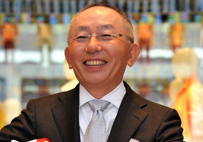 Tadashi Yanai the richest man in Japan 00010