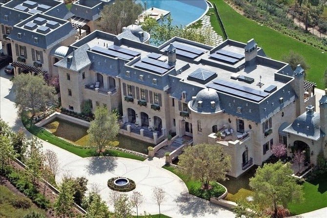 The Top 15 Most Luxurious Homes Of Rappers