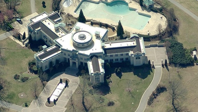 Evander Holyfield Mansion Pool The Top 15 Most Luxuri.