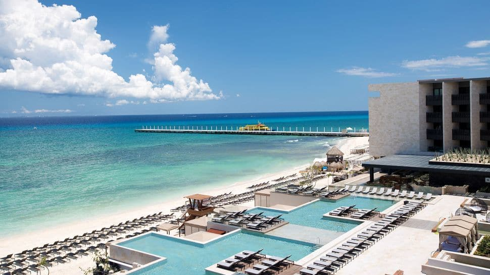 Enjoy The Grand Hyatt Playa Del Carmen Resort In Mexico