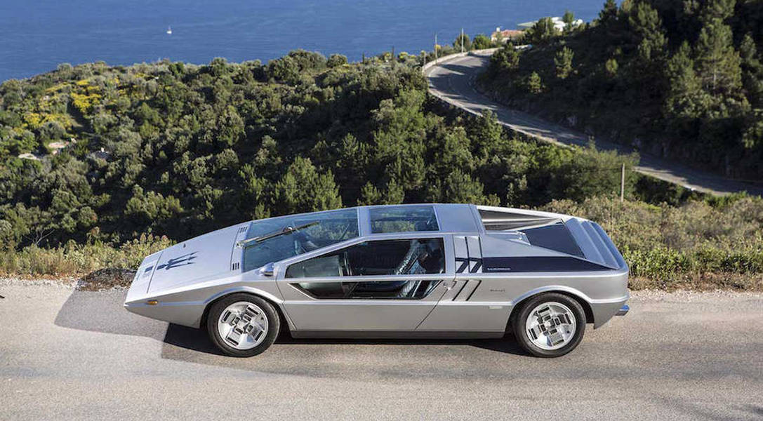 This Futuristic 1972 Maserati Boomerang Could Be Yours