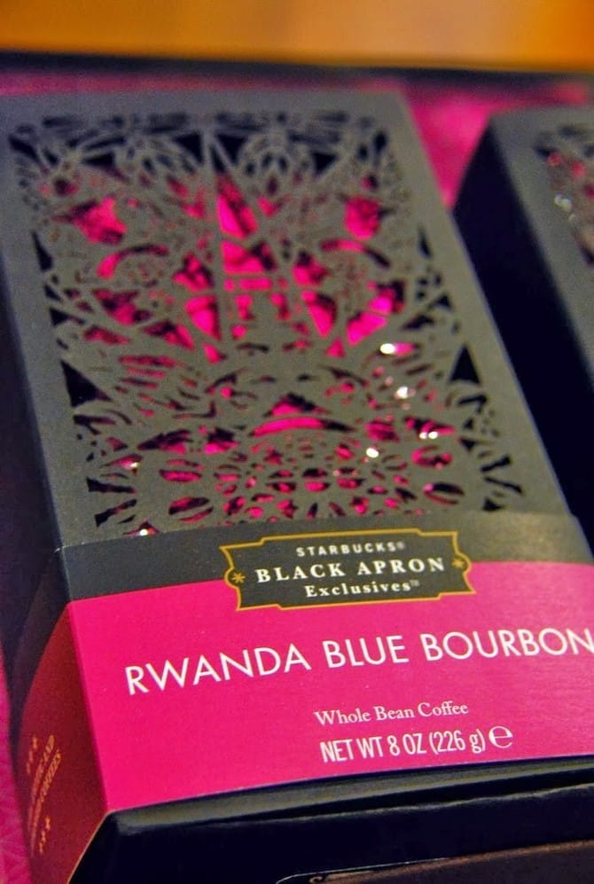 Rwanda Blue Bourbon van Starbucks