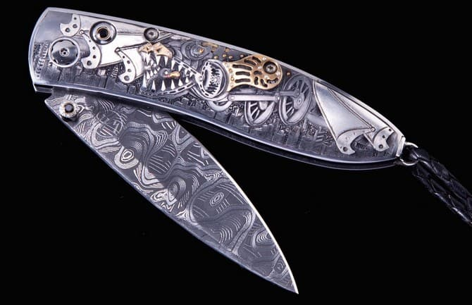 Top ten highest priced knives in the world 00005