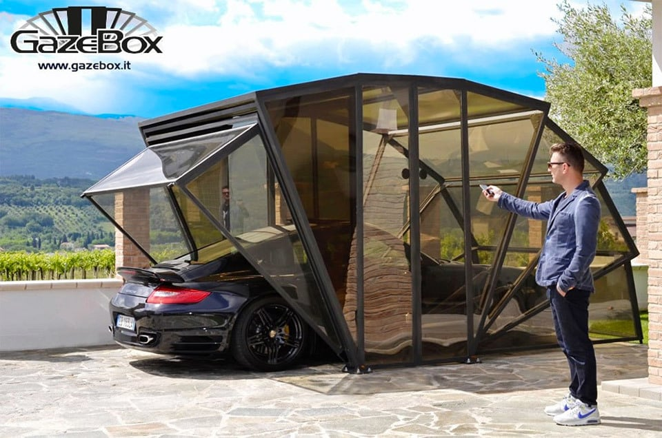 Gazebox Is Not Your Usual Garage