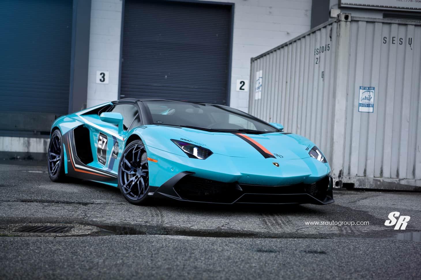 This Awesome Lamborghini Aventador Is Beyond Futuristic