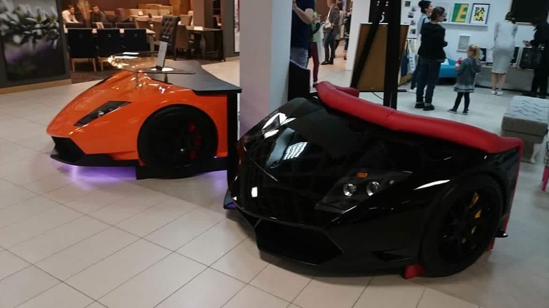 Lamborghini sofa