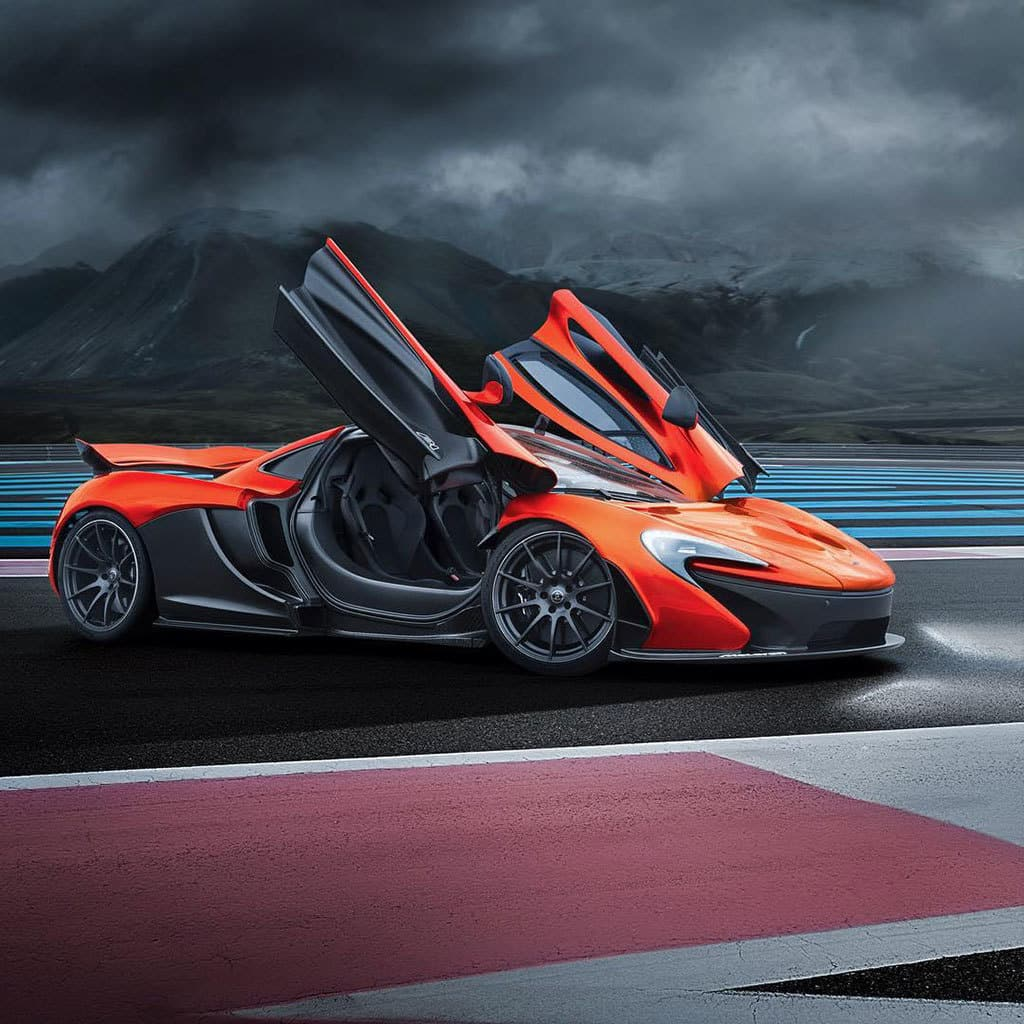new mso mclaren p1 looks ultra fast while standing still