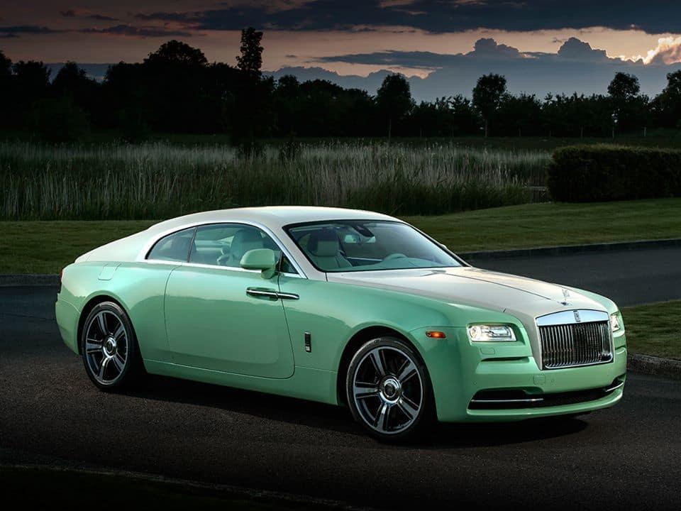Jade Pearl Rolls-Royce Wraith