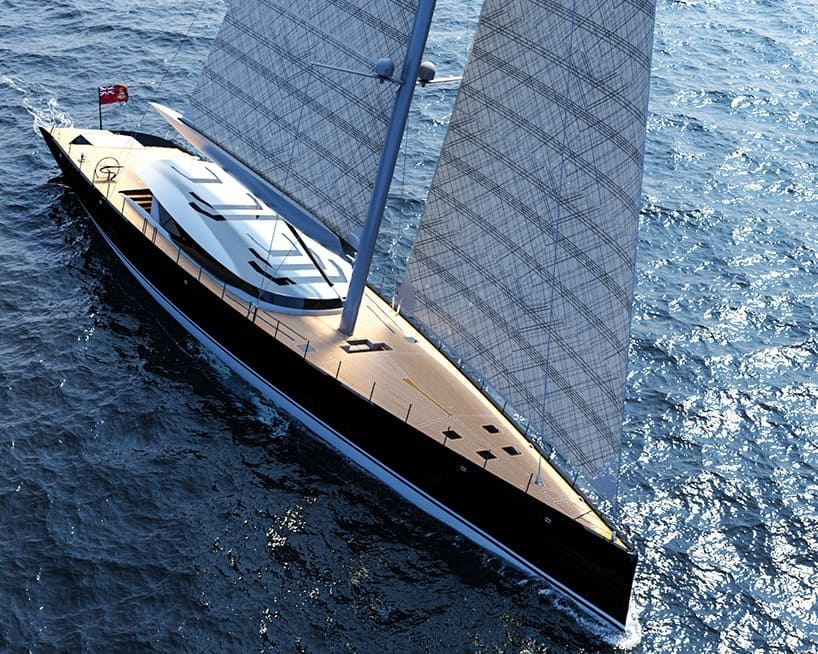 The Sloop Sailboat Concept Will Conquer The Seven Seas