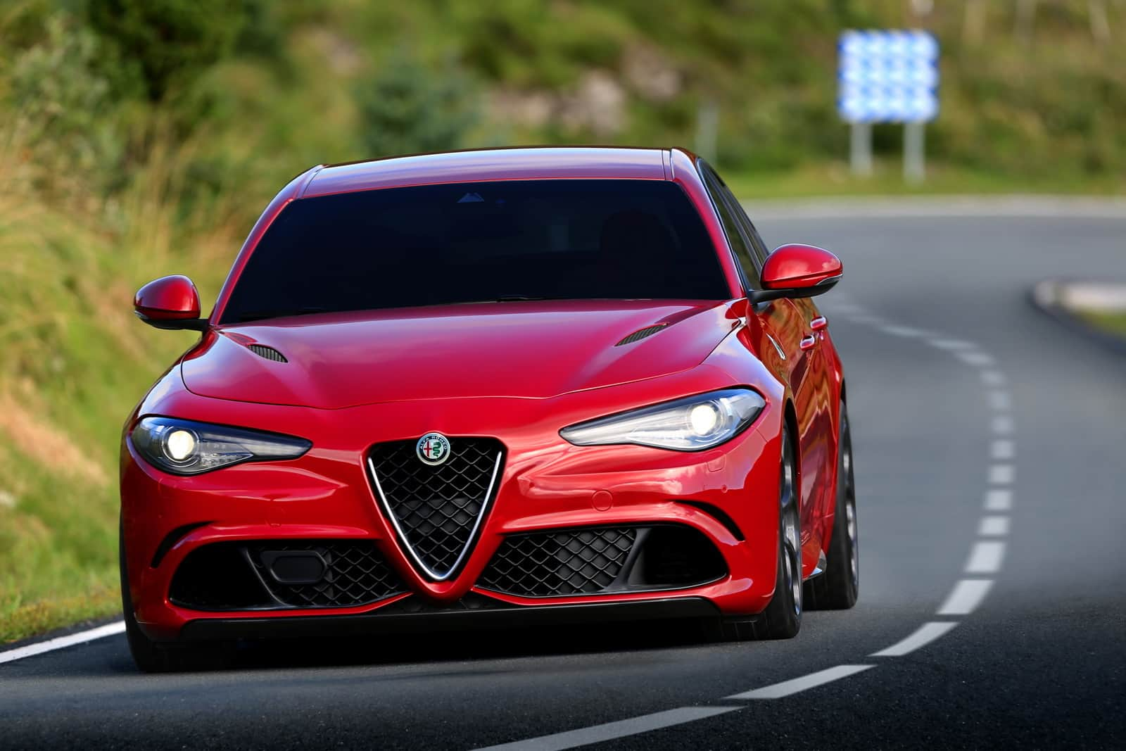 Alfa Romeo Giulia Quadrifoglio Italian Passion And Power on racing alfa spider