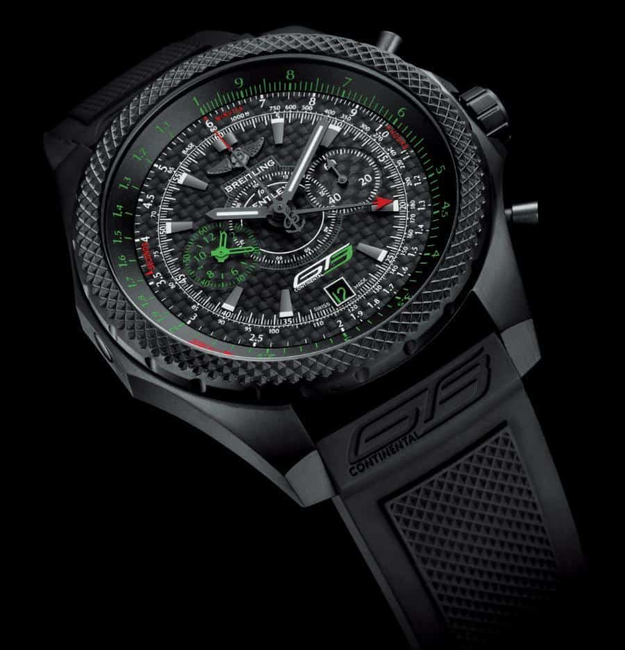 Breitling Pays A tribute To The Bentley GT3