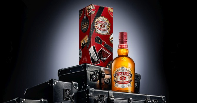 Chivas Regal Joins Forces With Globe-Trotter For Limited Edition Collectibles