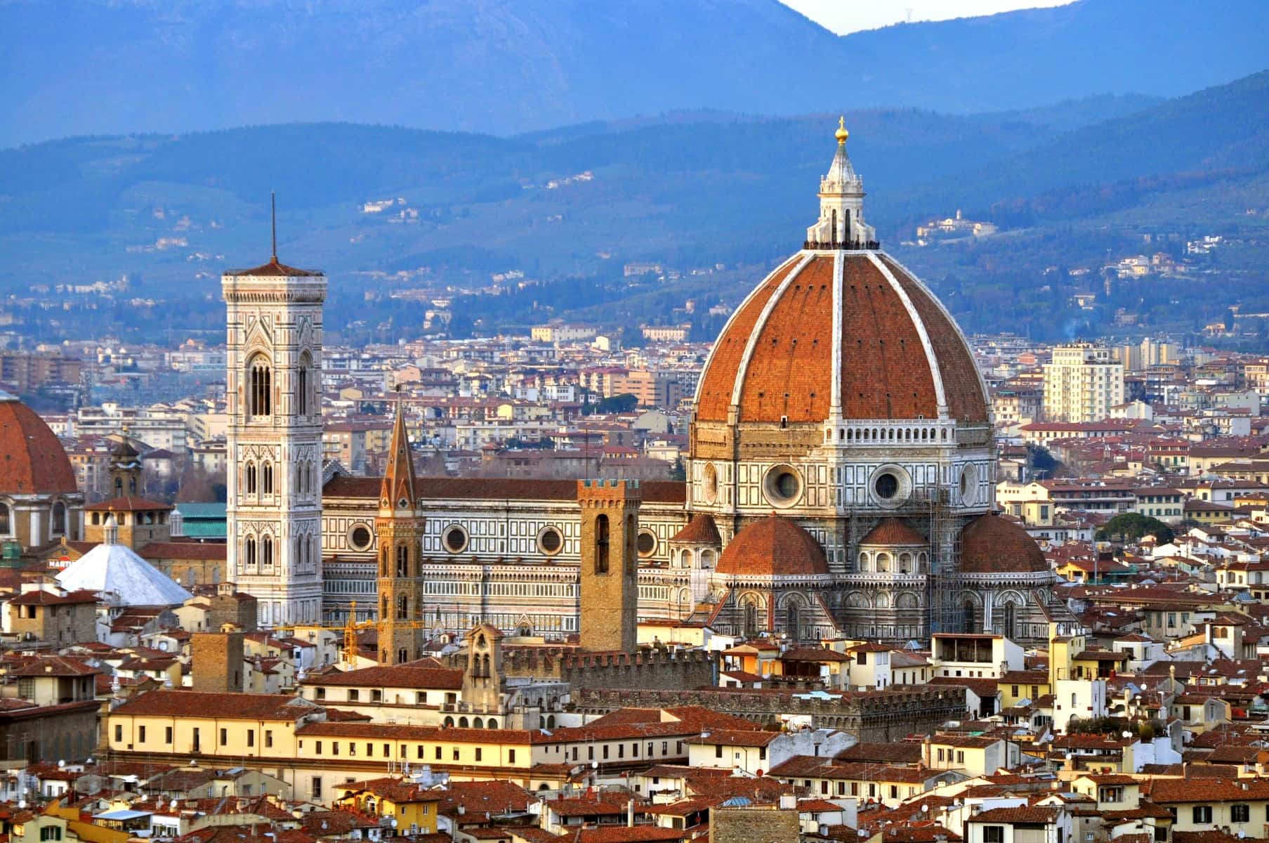 The ten best places in italy for a selfie for Domon florence