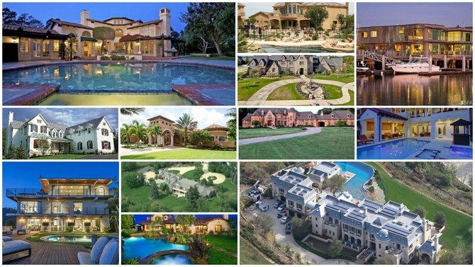 NFL players homes