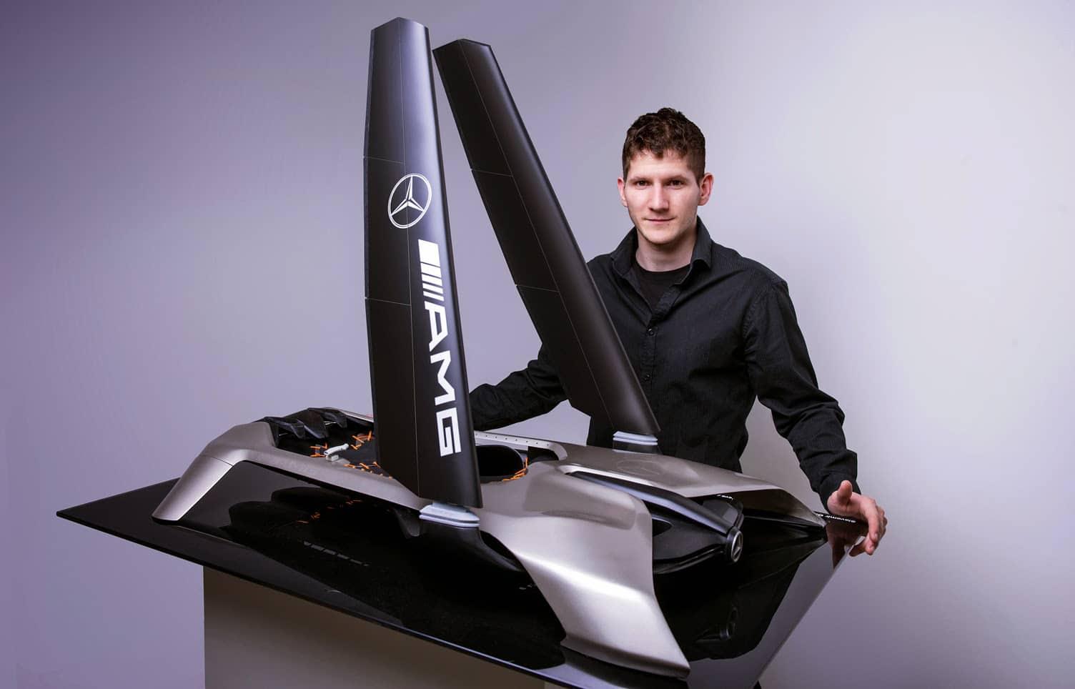 Mercedes-Benz WIND Power Watercraft Concept