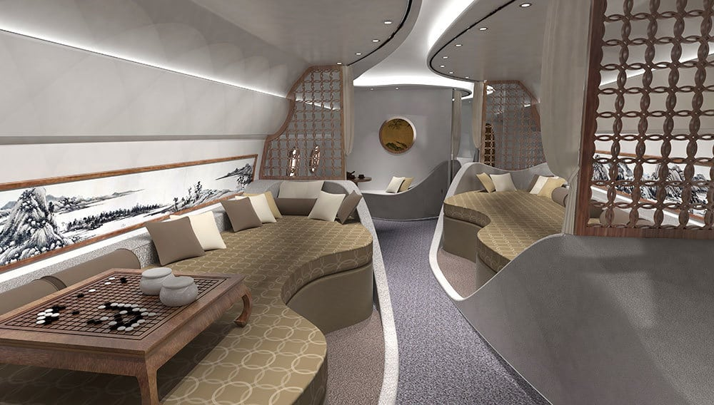 Chinese Design Firm Haeco Private Jet Solutions Is Responsible For One Of  The Most Breathtaking Private Jet Interior Designs Weu0027ve Ever Seen, ...