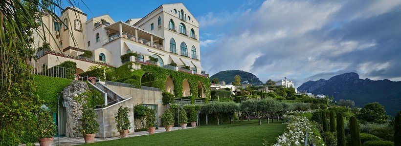 Belmond Hotel Caruso front most expensive wedding venues in the world 5 Of The Most Expensive Wedding Venues In The World Belmond Hotel Caruso front