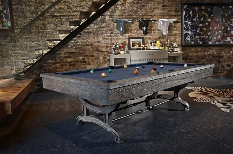 The 2015 brunswick billiards fall collection is incredible for Koi pond pool table