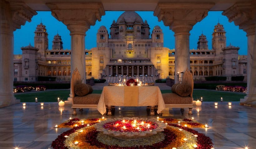 Umaid Bhawan Palace most expensive wedding venues in the world 5 Of The Most Expensive Wedding Venues In The World Umaid Bhawan Palace