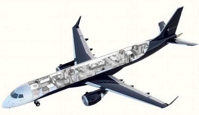The Luxurious Embraer Lineage 1000e Will Set You Back 163 34