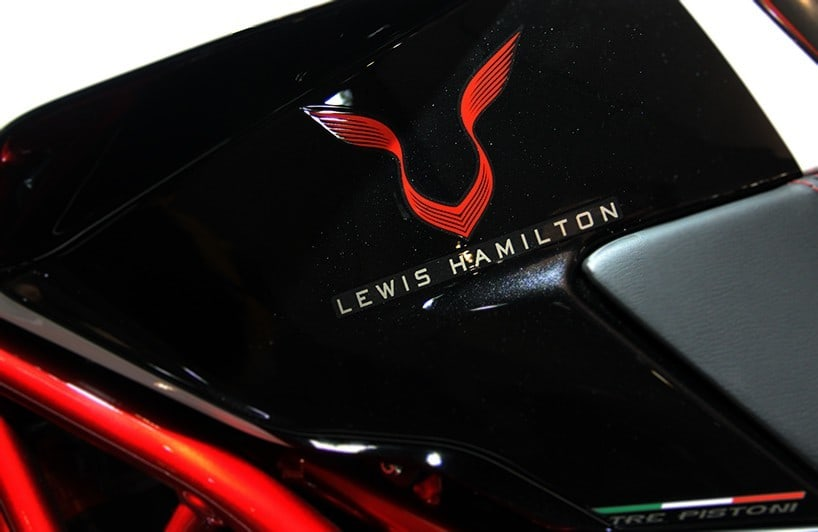 Lewis Hamilton Amp Mv Agusta Team Up For A Limited Edition