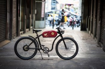 Otocycles launches the first e-bike inspired by the popular Cafe Racer : RACER